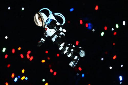 Astronaut - symbolizing modern space exploration