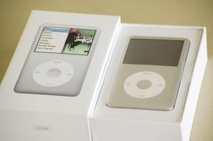 New Silver 120Gb iPod
