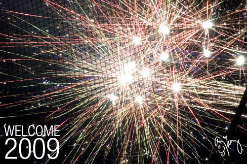 Welcome 2009 - Fireworks by Me