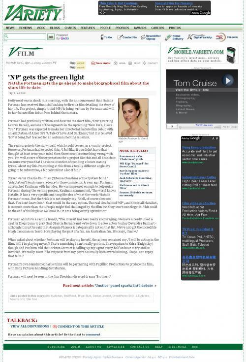 NP.com - April Fools' joke - Variety