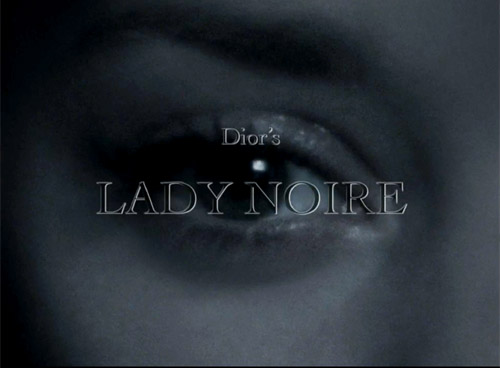Dior's Lady Noire - Marion Cotillard