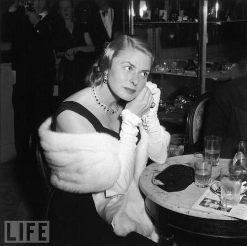 Cannes Film Fest - Ingrid Bergman