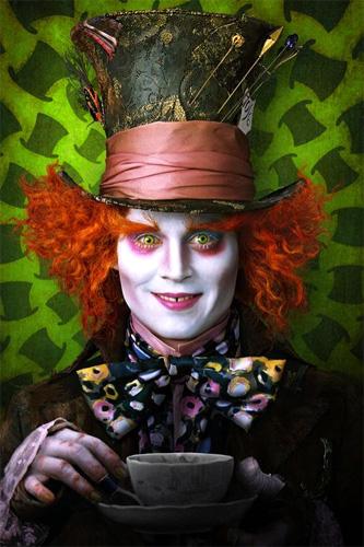 Tim Burton - Alice in Wonderland - Mad Hatter