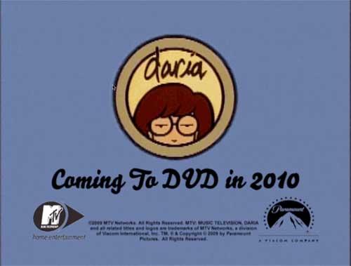 Daria on DVD Soon!!