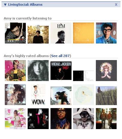 LivingSocial Albums