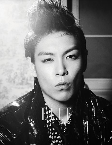 T.O.P - Big Bang - Elle Korea
