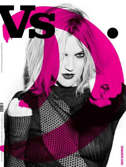 Drew Barrymore - VS Magazine Cover