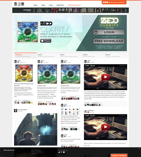 interscope new label website 003 free download