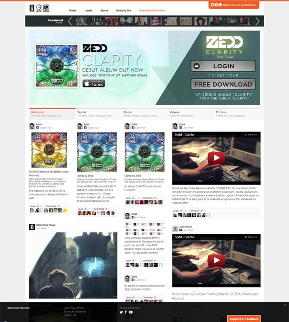 interscope new label website 003 free download