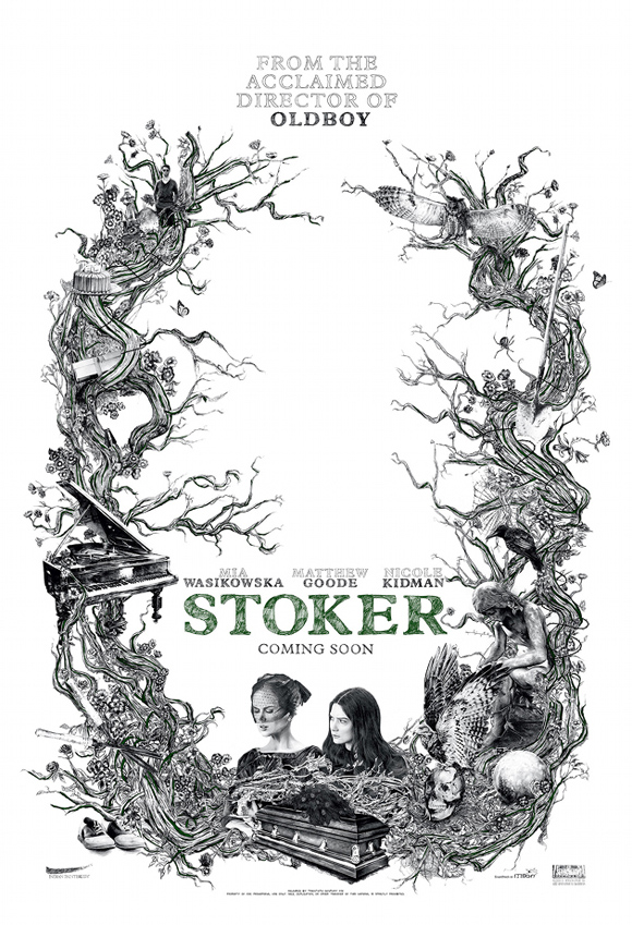 stoker poster coming soon