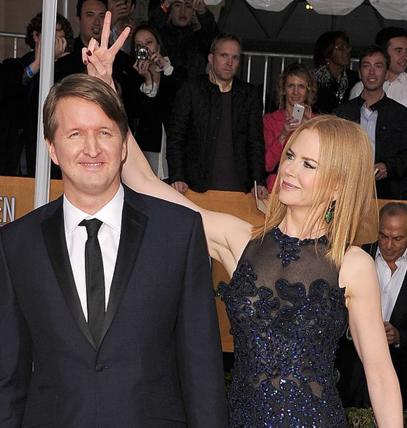 Nicole Kidman + Tom Hooper at SAG Awards 2013